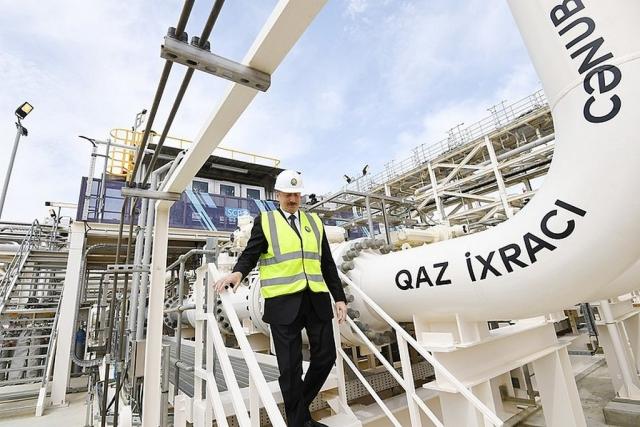 Ильхам Алиев открыл Южный газотранспортный коридор