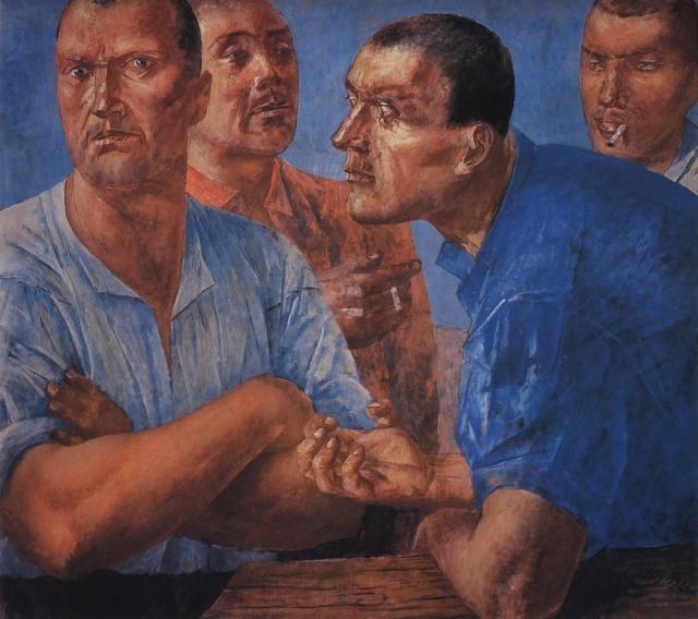 Кузьма Петров-Водкин. Рабочие. 1926