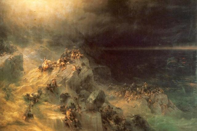 Иван Айвазовский. Всемирный потоп. 1864