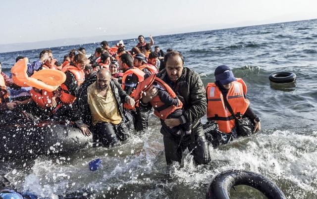 Беженцы средиземное море