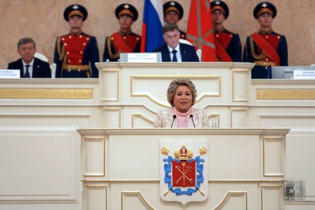 Валентина Матвиенко. Дарья Драй © ИА REGNUM
