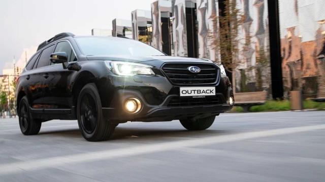 Subaru представит в Москве внедорожник Outback Black Line