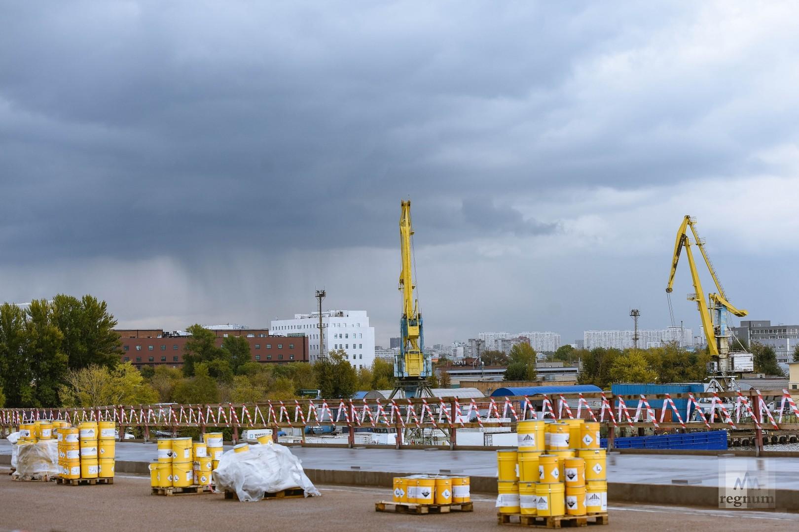 Новый мост будет построен недалеко от Южного речного порта