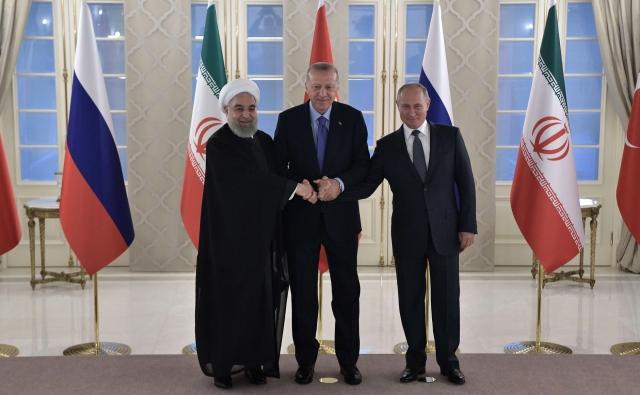 Трёхсторонний саммит по сирийскому урегулированию. 16 сентября 2019 года, Анкара