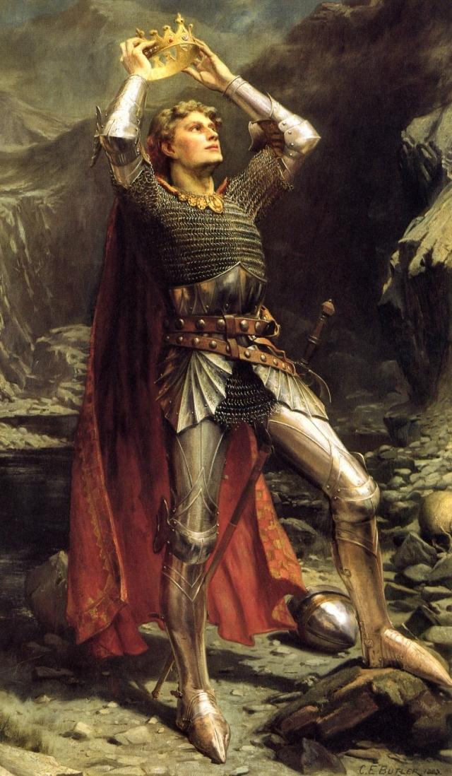 Чарльз Эрнест Батлер. Король Артур. 1903