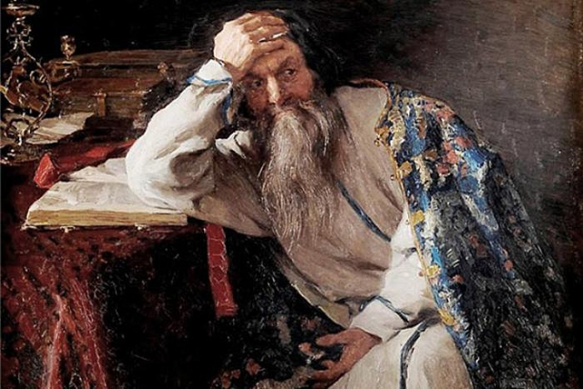 Клавдий Лебедев. Иван Грозный. 1904
