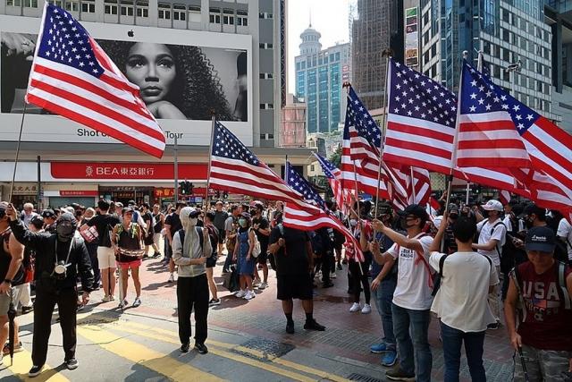 Протесты в Гонконге. 2019