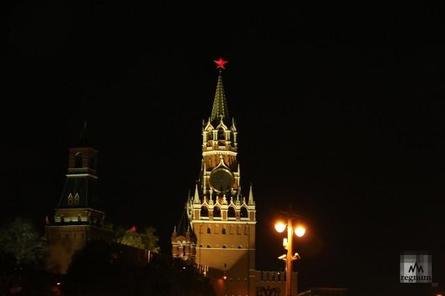 Спасская башня. Кремль