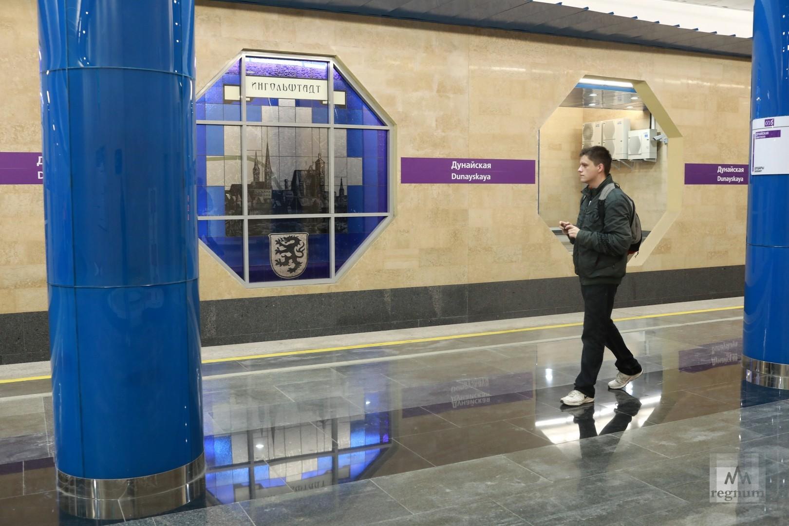 «Метрострой» превратил станцию «Дунайская» в болото