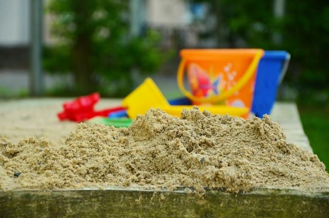 Песочница в детском саду