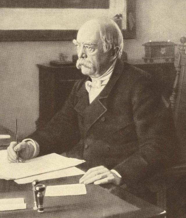Отто фон Бисмарк. 1886