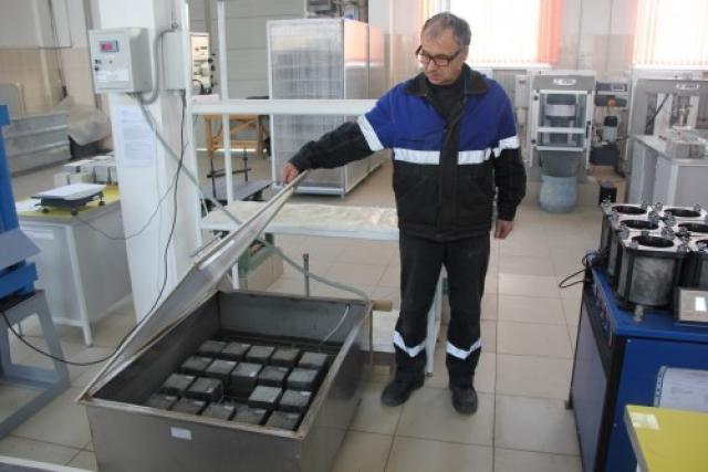 Строительная лаборатория Белорусской АЭС