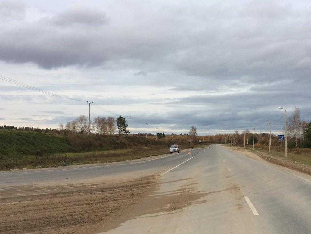 Дорога, где случилось смертельное ДТП.