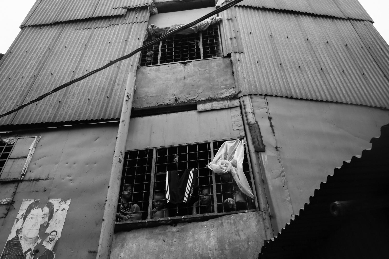 Типичное жилье в трущобах столицы
