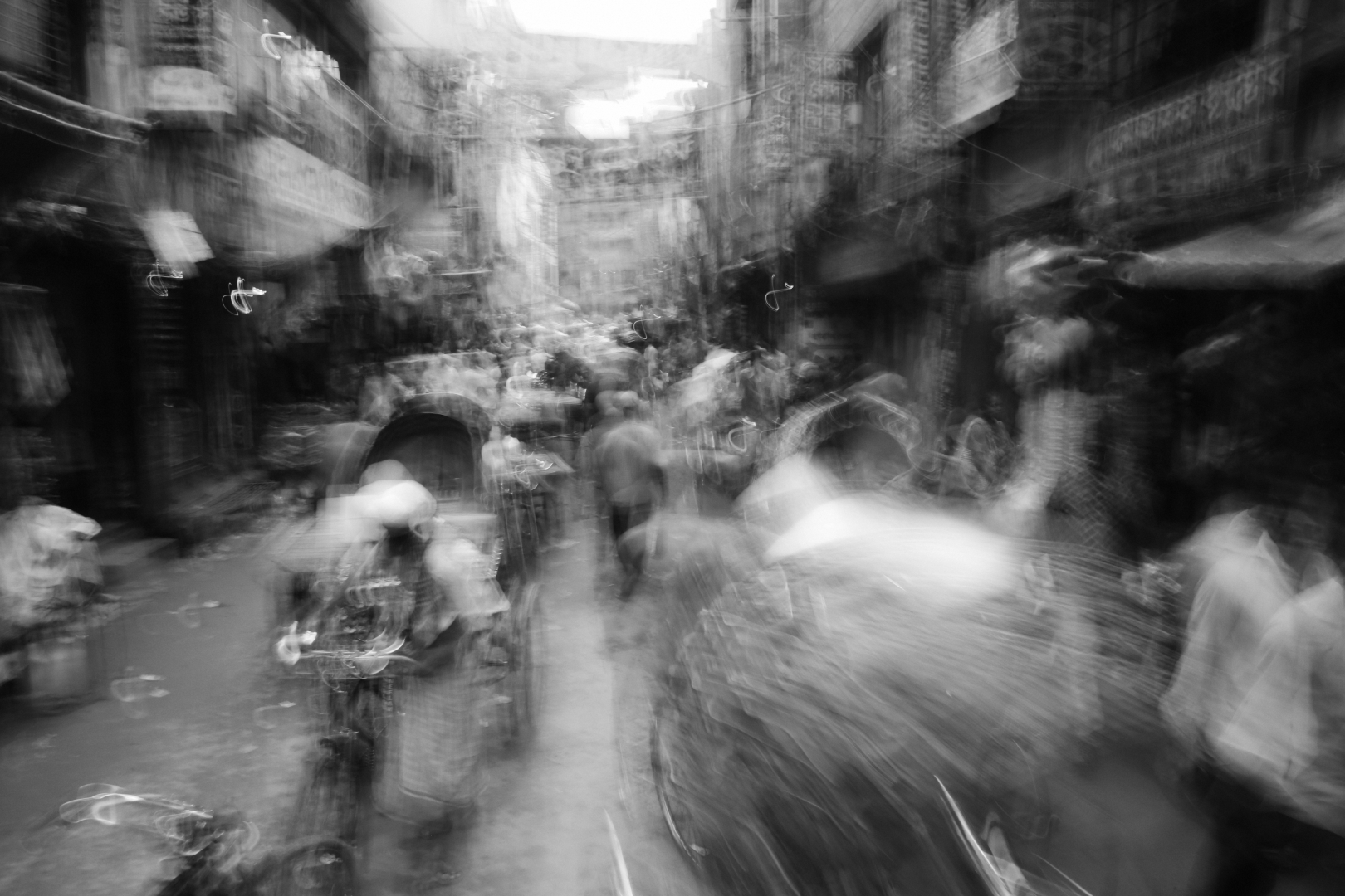 Людской траффик в Дакке