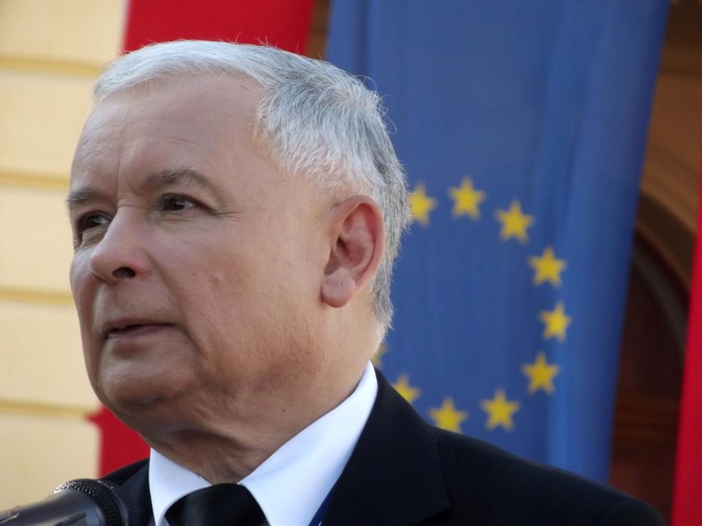 Лидер партии PiS «Право и справедливость» Ярослав Качинский