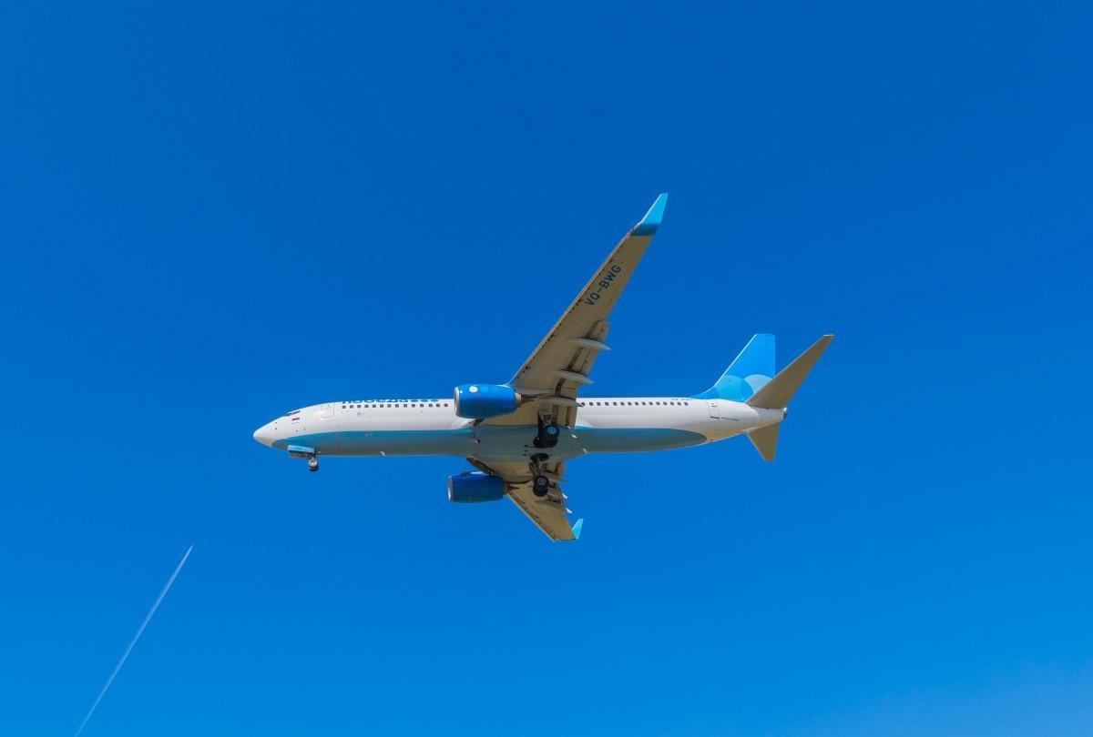 Самолёт авиакомпании Победа