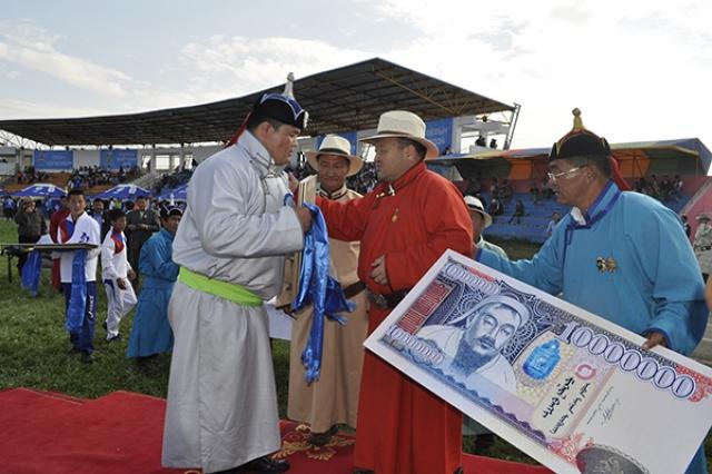 Празднование 35-летнего юбилея ГОК «Эрдэнэт». 2013