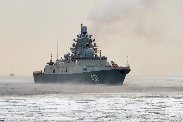 Фрегат «Адмирал флота Касатонов» ВМС России
