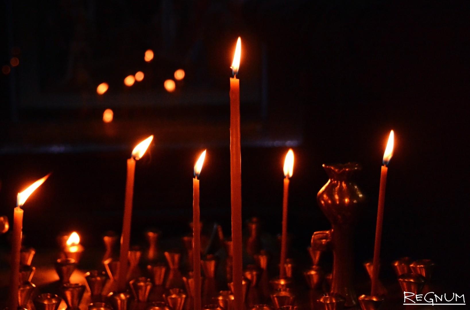 скорбь фото картинки свечи делился фотографиями