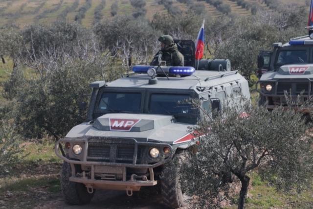 Российский патруль. Сирия