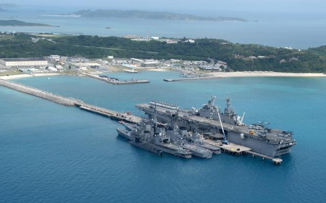Военно-морская база США в Окинаве