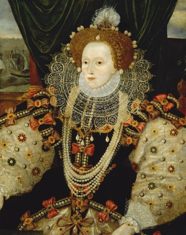 Елизавета I Тюдор (1558-1603), королева Англии и Ирландии