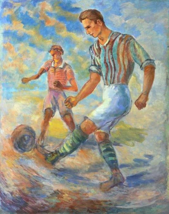 Павел Кузнецов. Футбол. 1930-е