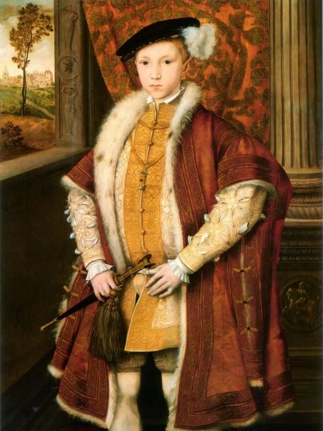 Король Англии Эдуард VI, с грамотами которого в 1553 году отправилась в Китай северным путем экспедиция Х. Уиллоуби-Р. Ченслера