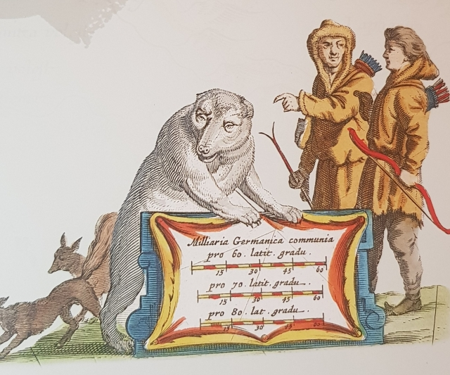 Жители Русского Севера на голландской карте У. Блау XVII века