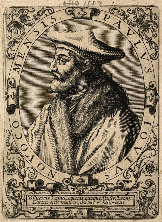 Епископ, историк и географ Паоло Джовио, которому о Северном морском пути рассказал в 1525 году посол Василия III в Риме Дмитрий Герасимов