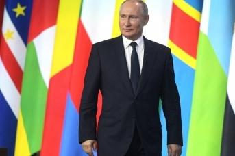 Владимир Путин на саммите Россия – Африка. Фото: пресс-служба Кремля