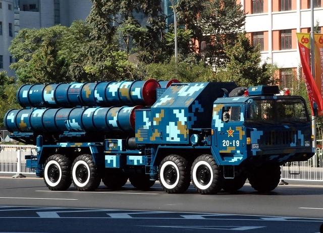Китайский зенитно-ракетный комплекс дальнего действия HQ-9