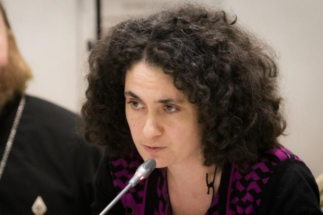 Жанна Тачмамедова в ОП РФ на круглом столе «Проблемы насилия в семье в свете общественной безопасности»