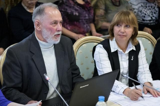 Владимир Павленко в ОП РФ на круглом столе «Проблемы насилия в семье в свете общественной безопасности»