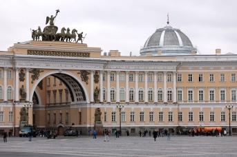 Здание Главного штаба (Штаб ЗВО)