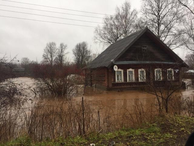 В Новгородской области подтоплена территория 31 населённого пункта