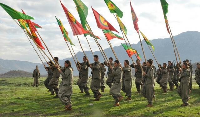 Сторонники «Рабочей партии Курдистана» (PKK)