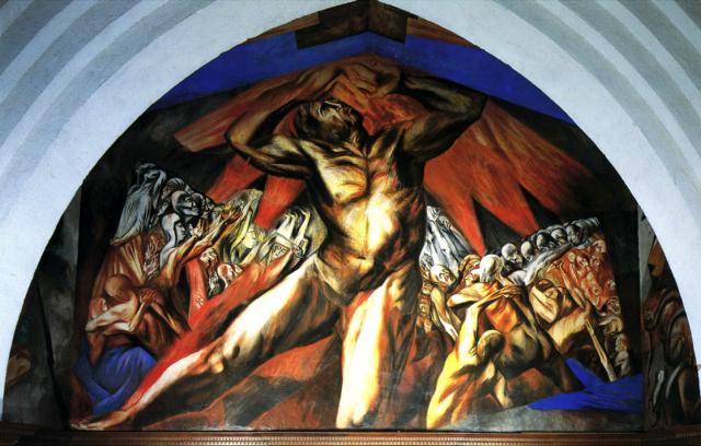 Диего Ривера. Прометей. 1928
