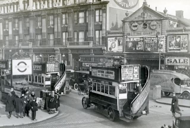 Лондон. 1927
