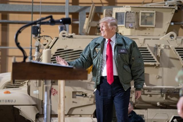 Дональд Трамп в Ираке