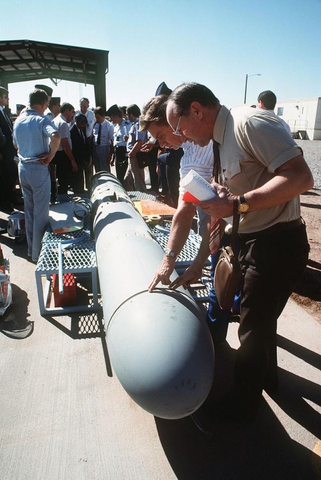 Советские инспекторы, октябрь 1988. США