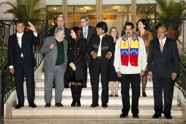 Мадуро призвал «выйти на улицу», чтобы поддержать Эво Моралеса