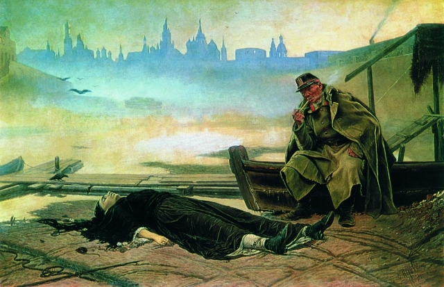 Василий Перов. Утопленница. 1867