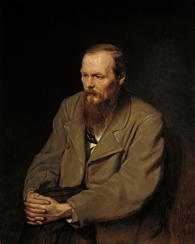 Василий Перов. Портрет Федора Михайловича Достоевского. 1872