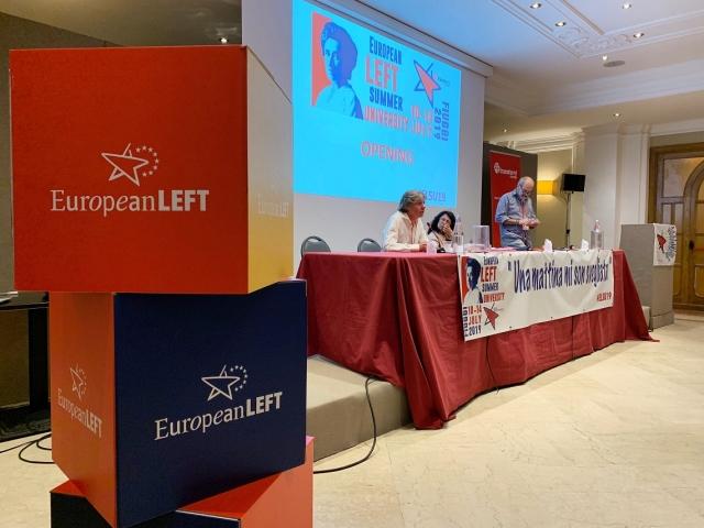Съезд Партии европейских левых в 2019 году European-left.org