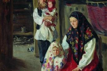Иван Семенович Куликов. Семья лесника. 1909