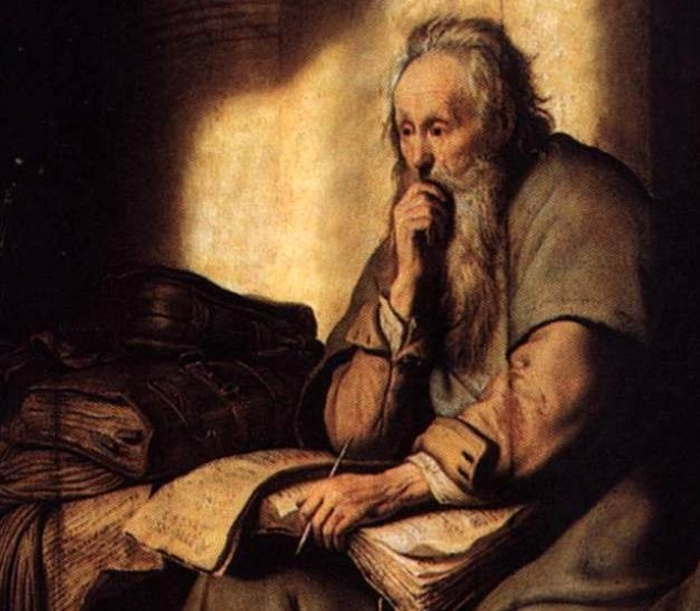Рембрандт. Апостол Павел в темнице. 1630
