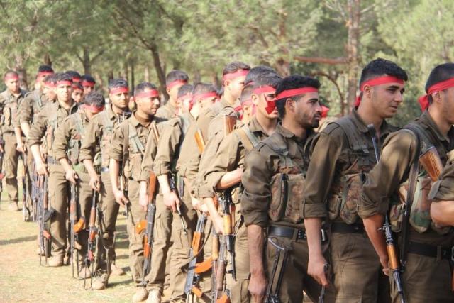 Курдский отряд