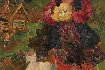 Филипп Малявин. Россия-матушка. 1910-е